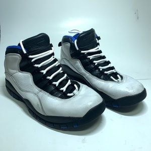 Nike Air Jordan Retro 10 Orlando Royal Blue Sz 11